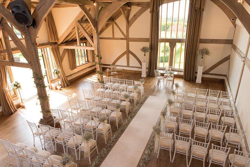 barn wedding venue london%0A The Best Barn Wedding Venues in Surrey  Cain Manor   CHWV