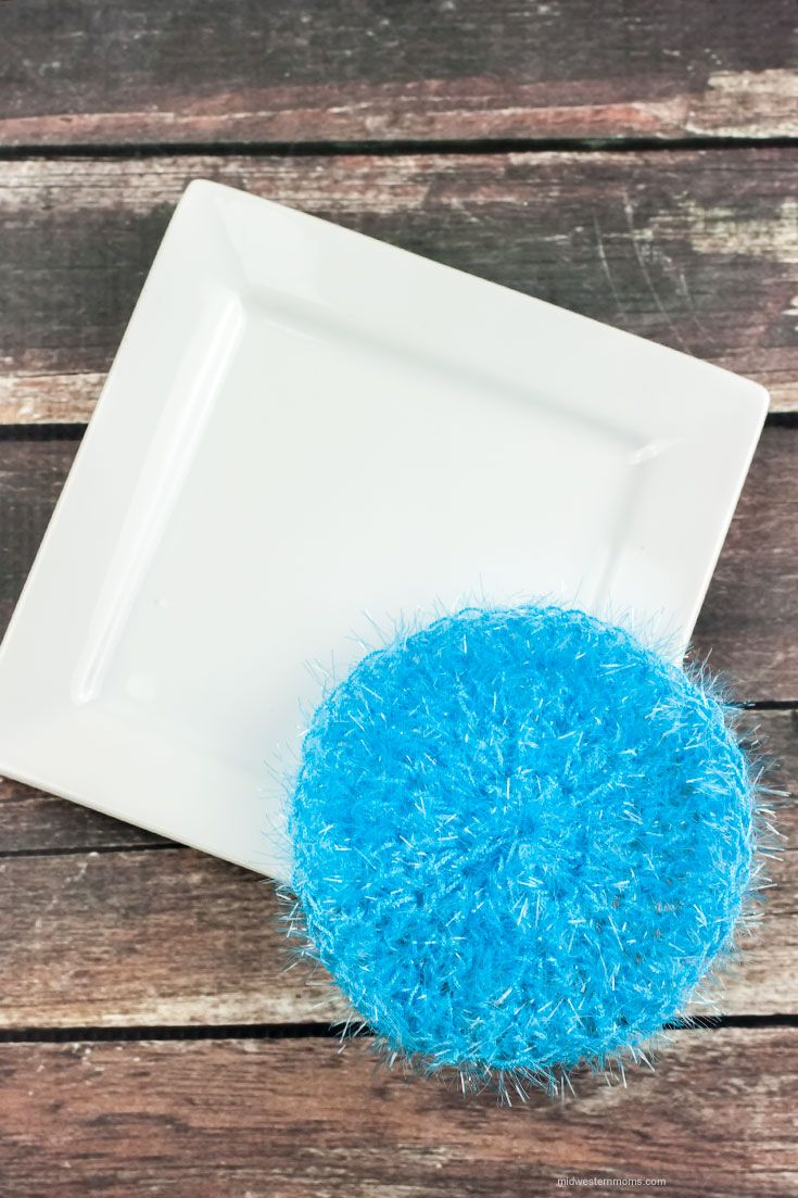 Simple Round Dish Scrubbie Pattern | Pinterest | Yarns, Dishes and ...