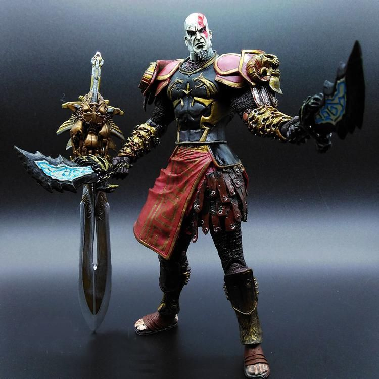 Kratos 3 God Of War Pvc 20cm God Of War Arte Arte Del Tatuaje