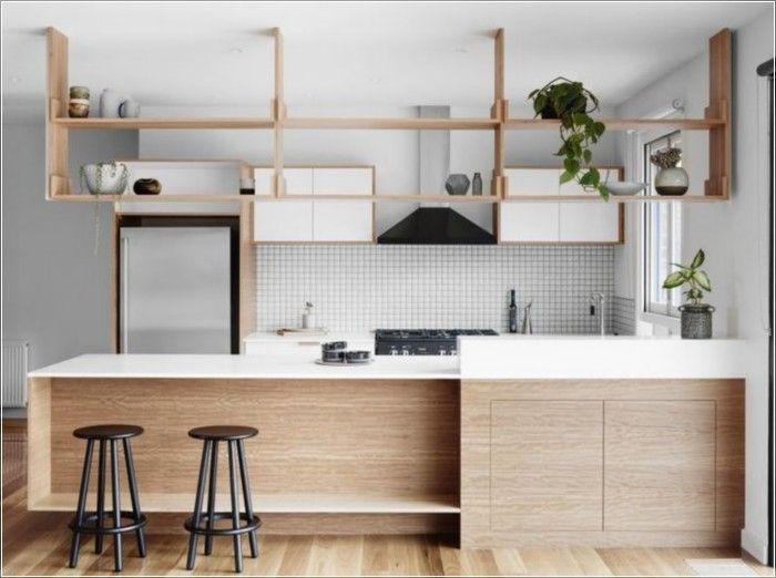 138 Awesome Scandinavian Kitchen Interior Design Ideas | Fachadas ...