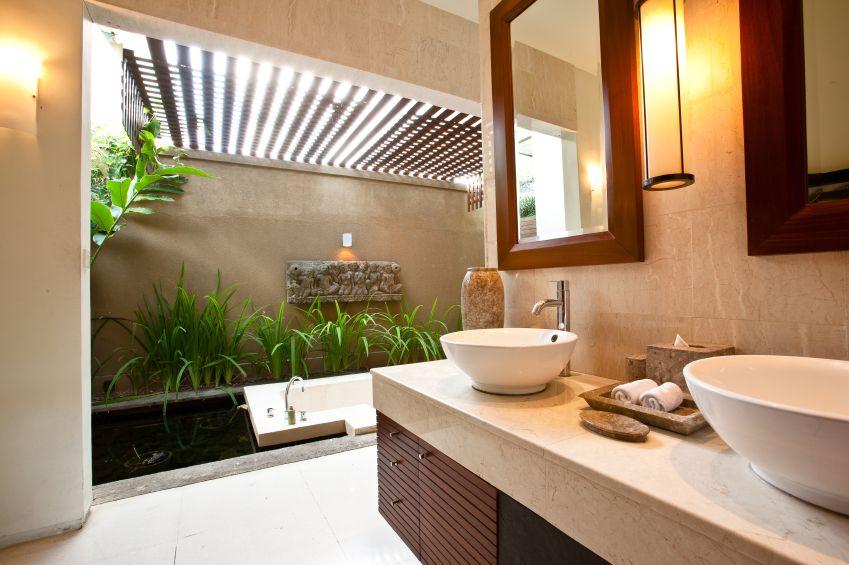 70 Sleek Modern Primary Bathroom Ideas Photos Tropical Bathroom Decor Modern Bathrooms Interior Tropical Bathroom