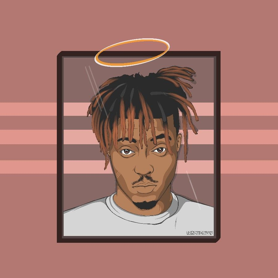Juice Wrld Cartoon art R.I.P JUICE in 2020 Trap art