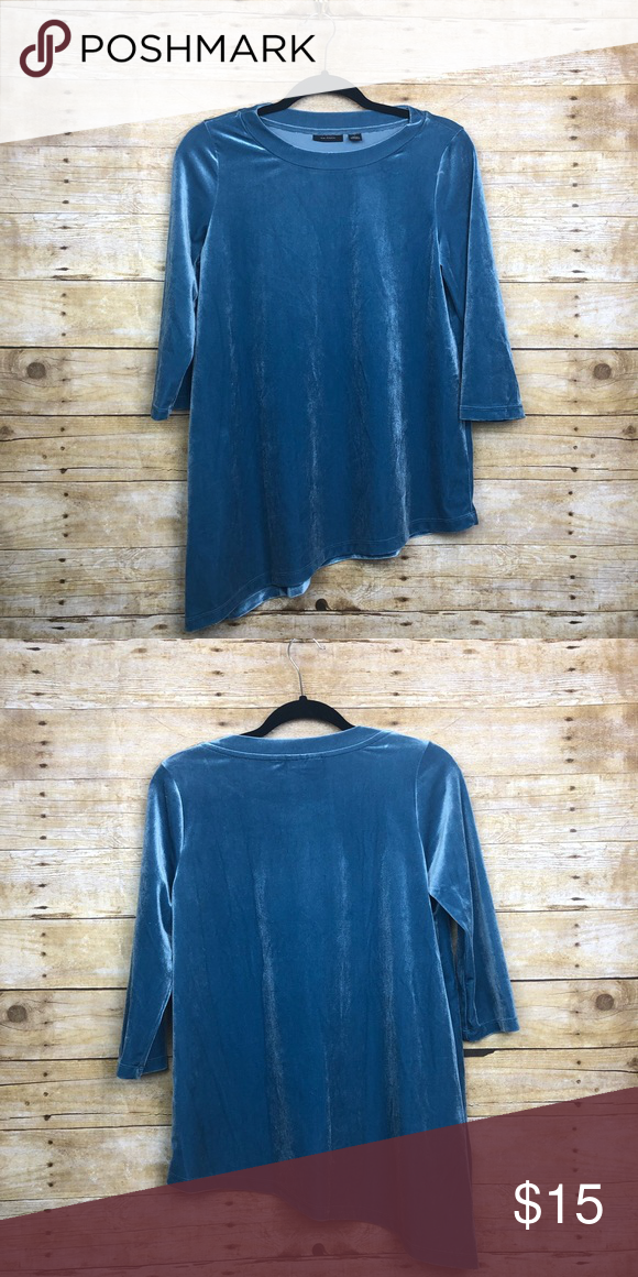 0bdf8bc1840 Halogen Velour asymmetrical Shirt Size small in great condition, the ...