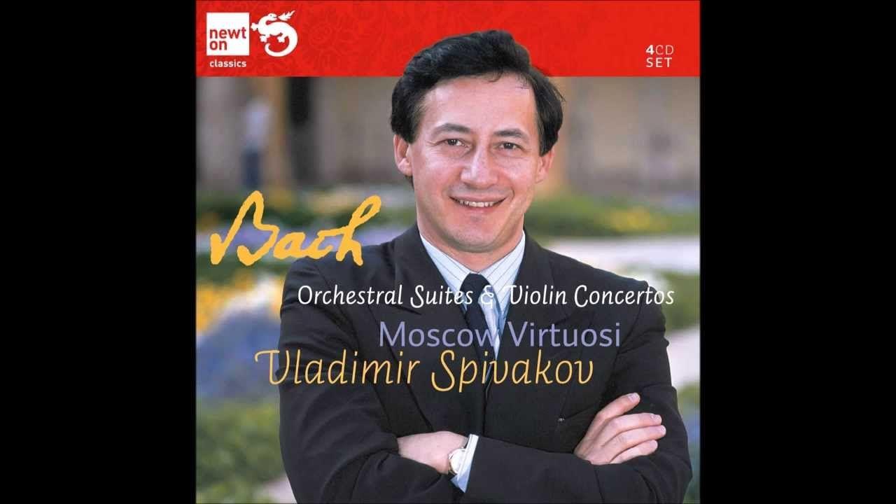 Suite Orquestral BWV 1067 Badinerie: Vladimir Spivakov & Moscow Virtuosi