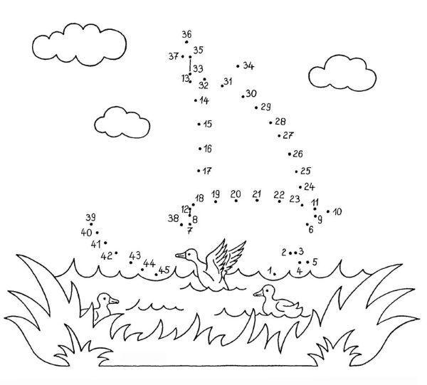 Dibujo De Unir Puntos De Barco De Vela Dibujo Para Juegos De Unir Puntos Dibujos Para Colorear Juegos De Unir