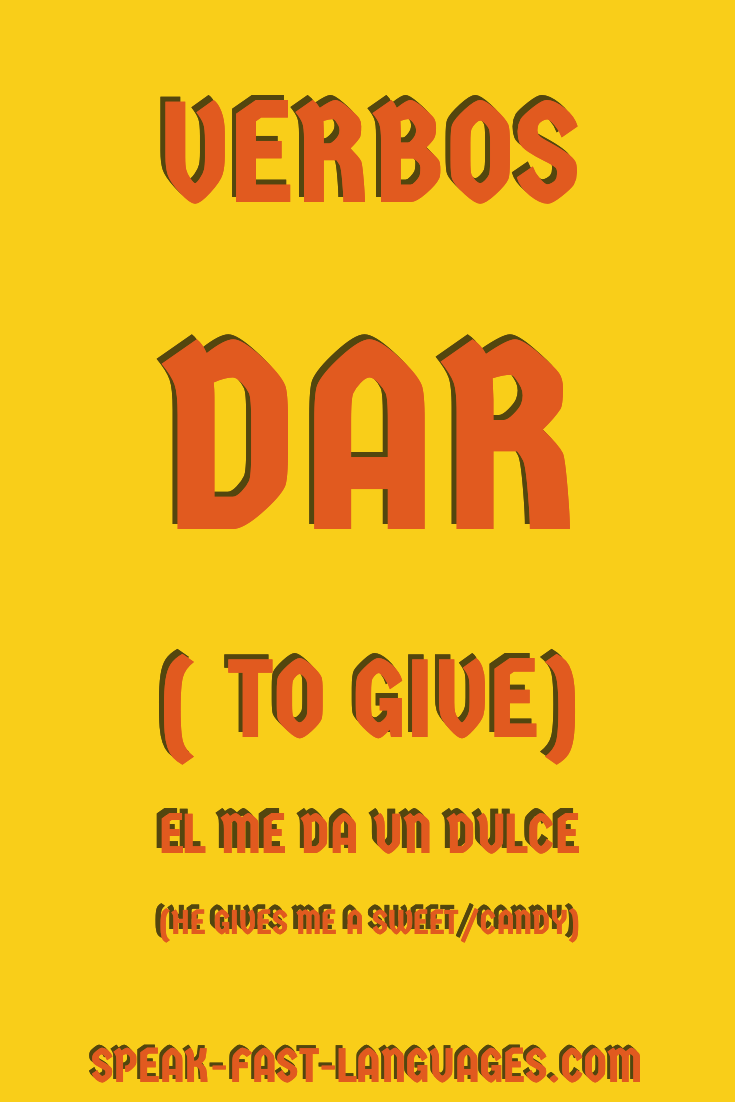 Frequently used Spanish Verbs | Spanish | Learning spanish