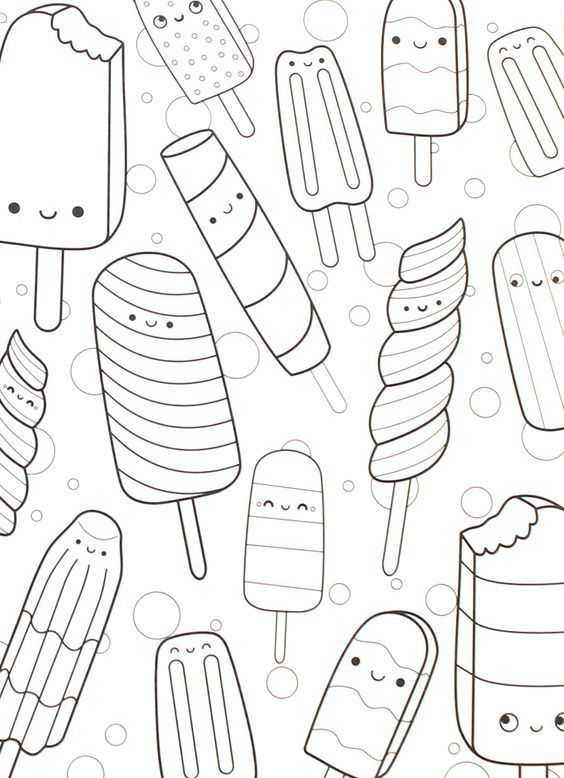 Fresh in stock! Our super cute, kawaii, and super yummy adult - fresh coloring pages for may