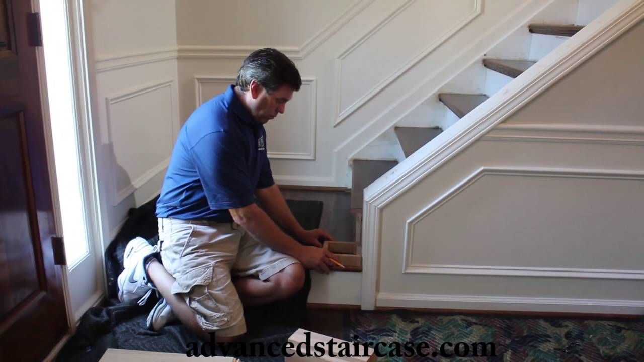 Best How To Install A Box Newel And Handrail Knee Wall Wall 400 x 300