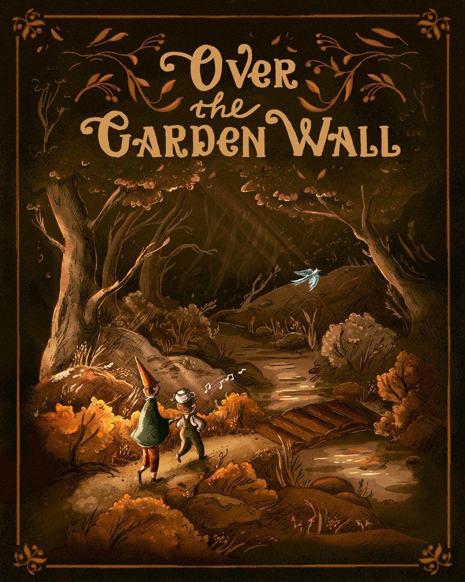 Over the Garden Wall fanart by Daria Danilova #ummauertergarten