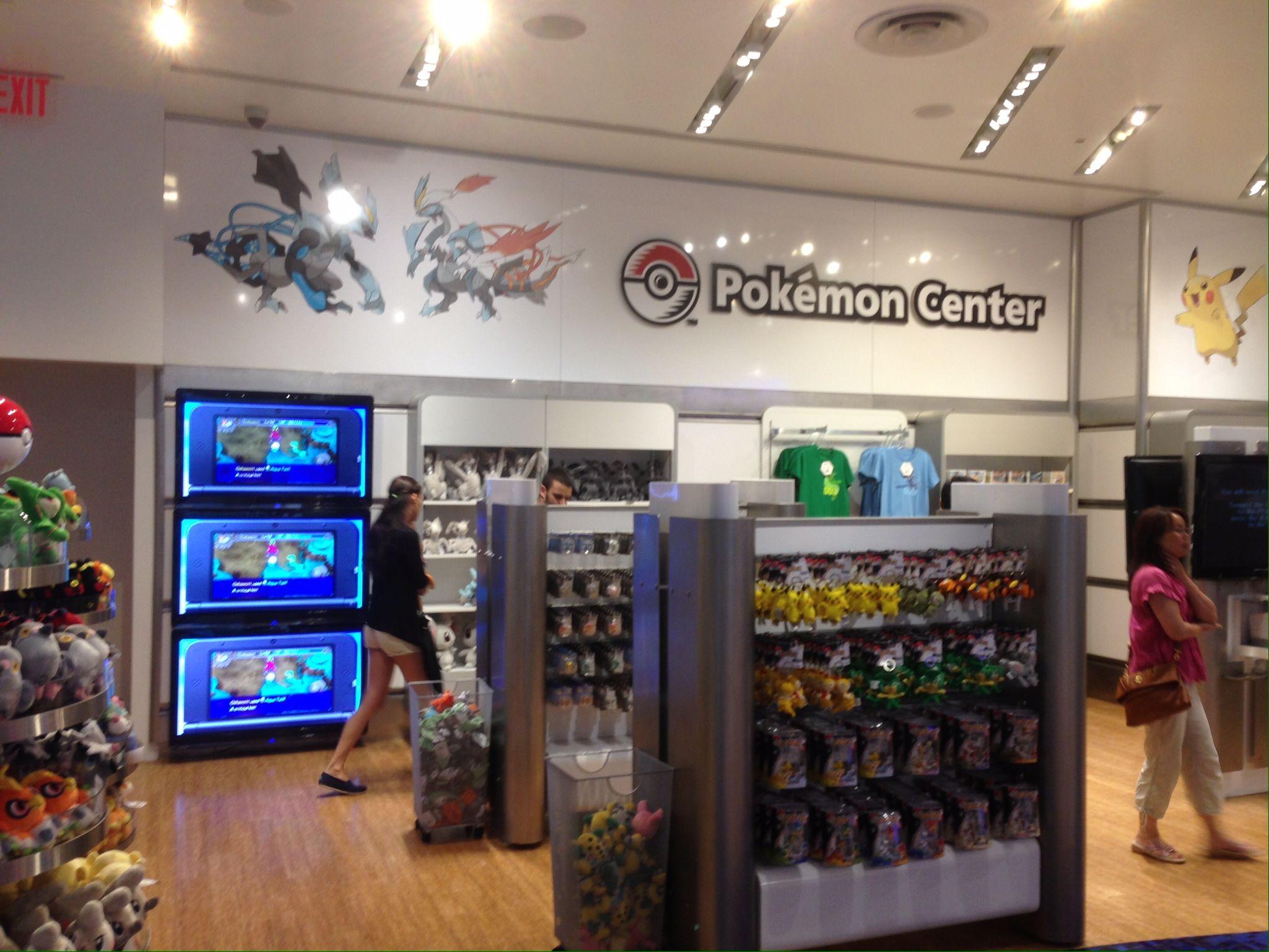 Pokemon Centre At New York City Nintendo World Flagship Store Nintendo World Home Decor Pokemon