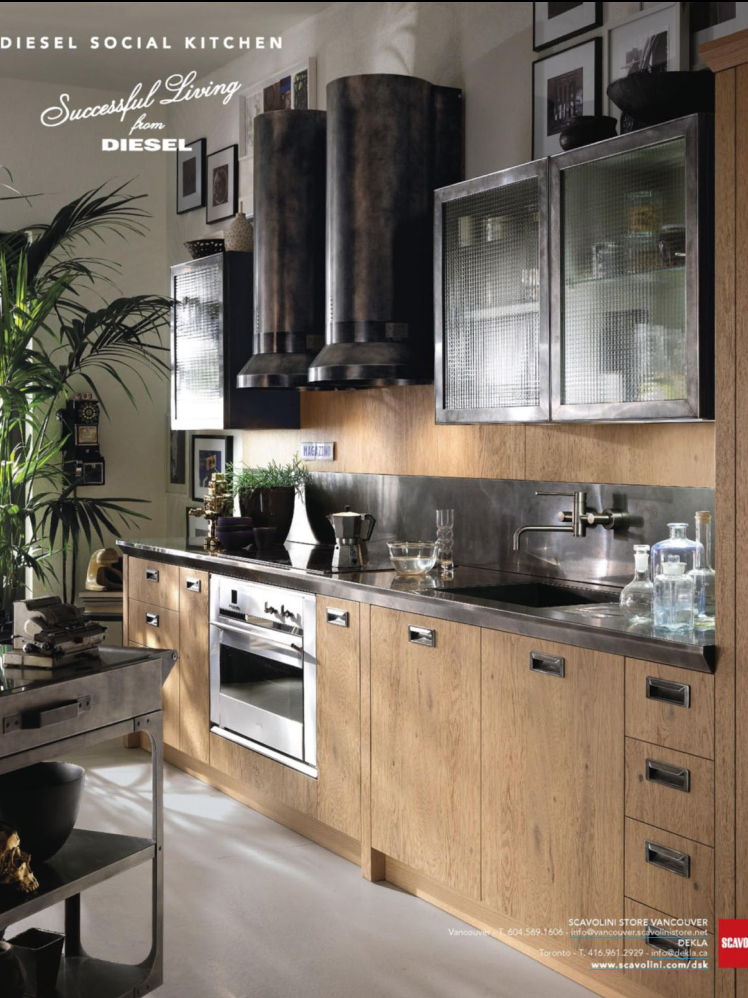 Scavolini Diesel kitchen | 3 | Residential | Kitchens | Pinterest ...