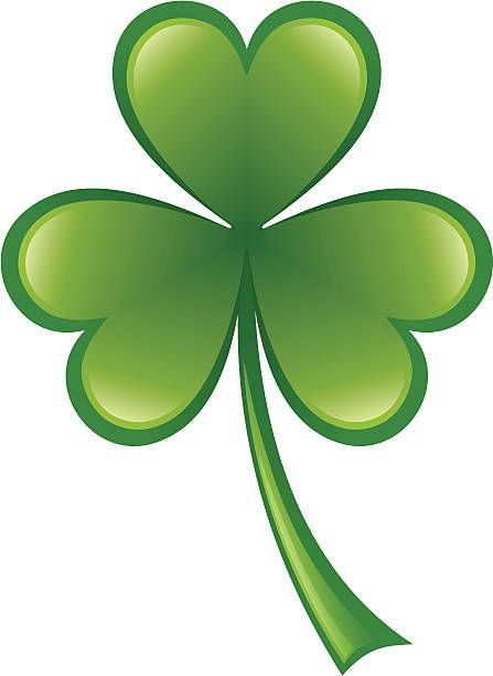Three Leaf Shamrock Holiday Images St Patricks Day Clip Art