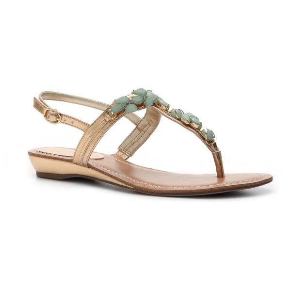 d88b929d710 Unisa Lady Beaded Flat Sandal