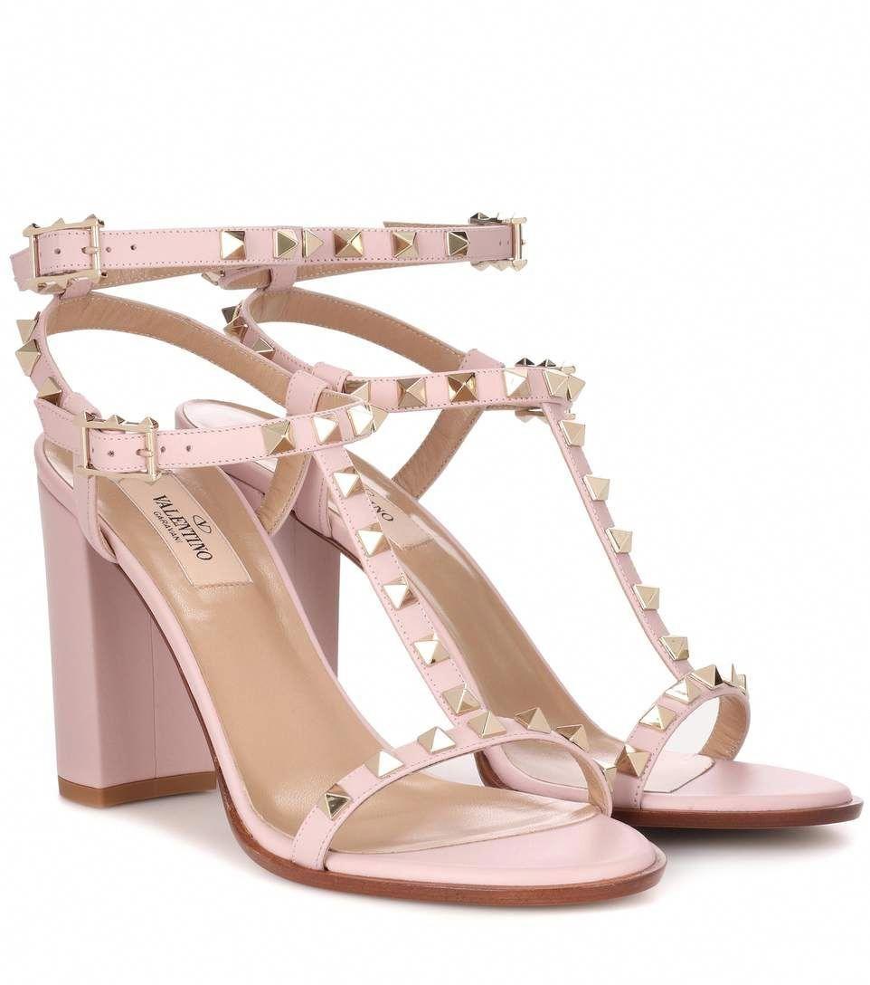 9714243dd5e860 VALENTINO Valentino Garavani Rockstud leather sandals.  valentino  shoes