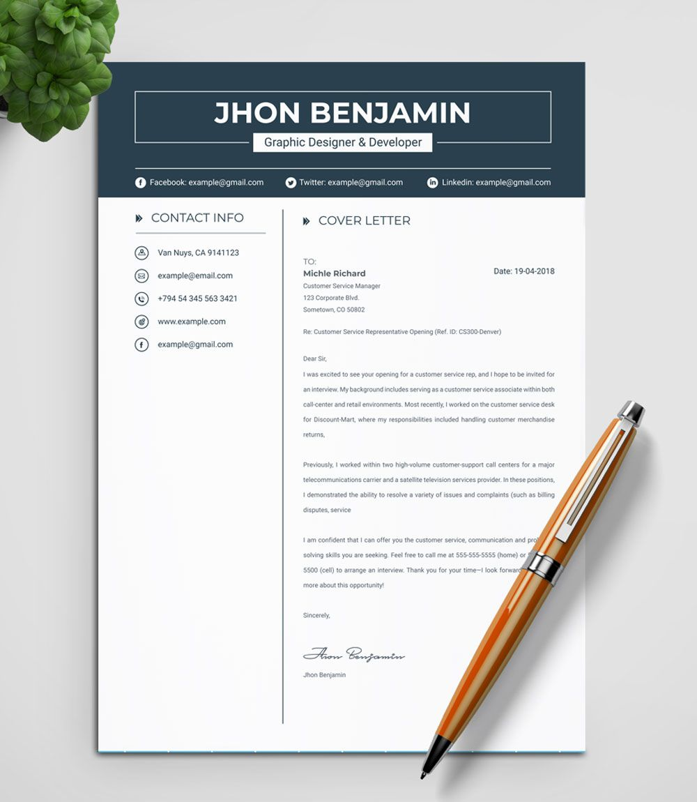 John resume template 71205 templatemonster resume