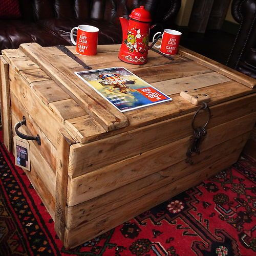 This Takes You To Ebay But I Like The Rustic Wood Plank Chest Maybe Can Be Z S Next Project