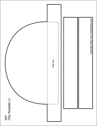 Printable Paper Hats Paper Hat Templates Printable Free Hat Template