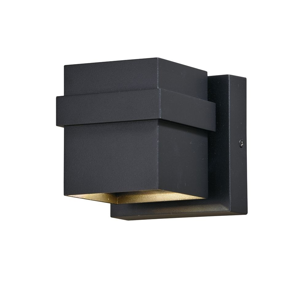 Cascadia Lighting Lavage Square 4.75-in LED Outdoor Sconce ... on Cascadia Outdoor Living Spaces id=96648