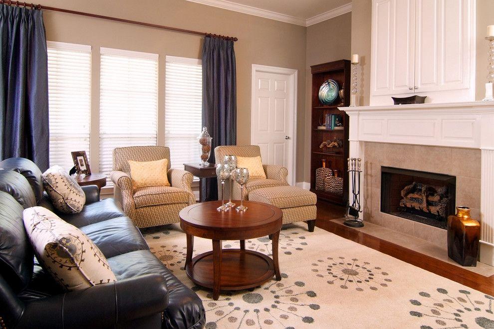 Image By Decorating Den Interiors Black Sofa Living Room Decor