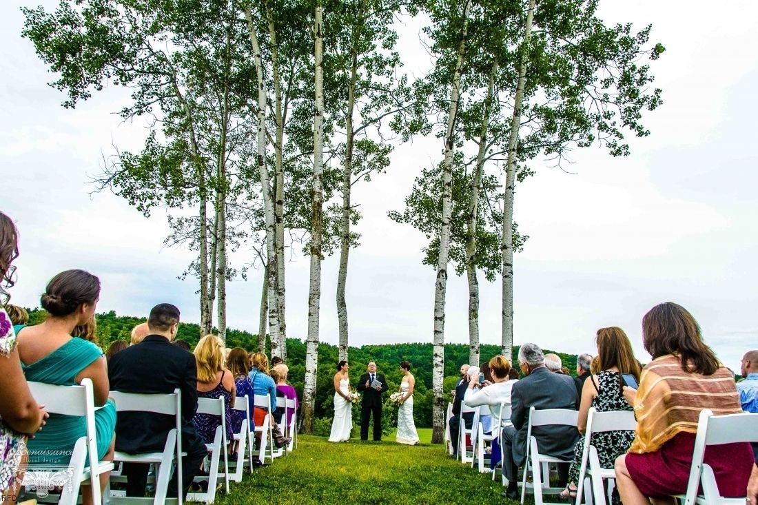 Nipmoose Barn Wedding // Randi & Alison