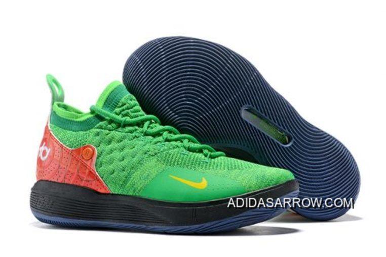 Super Deals Deals Super Nike KD 11 Vert/Noir Rouge Chaussures Pinterest a109ed