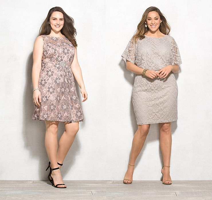 Stunning Plus Size Beige Lace Dress Pictures - Mikejaninesmith.us ...