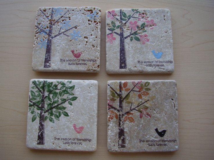 Pittura Su Piastrelle Di Ceramica : Piastrelle di ceramica decorate a mano u foto stock