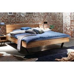 Tjoernbo, Bett Modern Sleep Baumkante, 140x220 cm,Moebelhaus-Remer