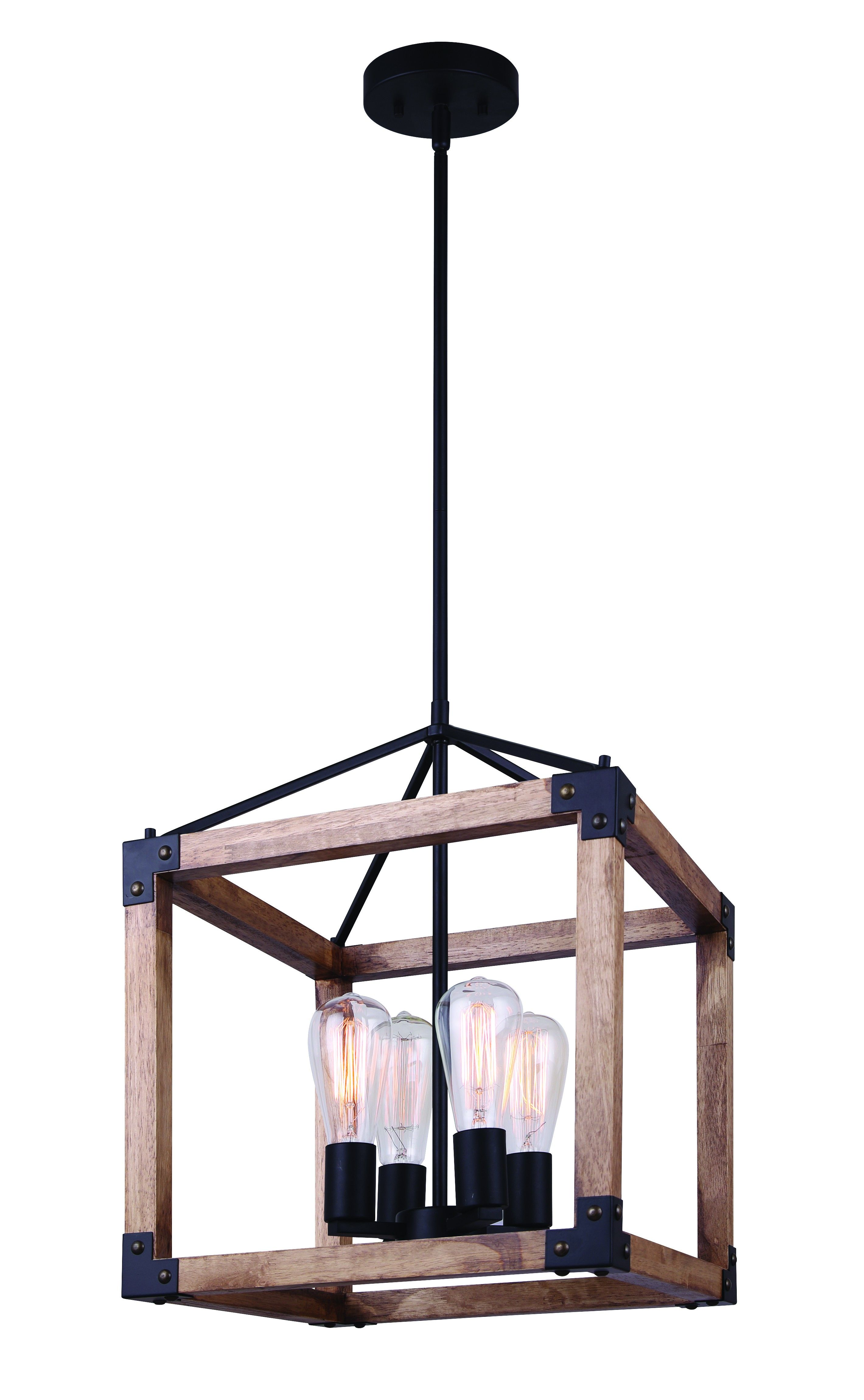 Canarm Ich756a04bkw14 Moss 4 Light Chandelier Black Rustic Chandelier Chandelier Lighting Exterior Light Fixtures