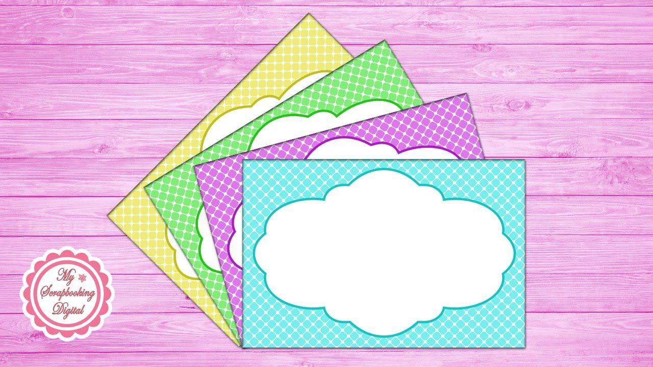 Cómo Hacer un Marco para Invitaciones en Photoshop - Diseño 2 ...