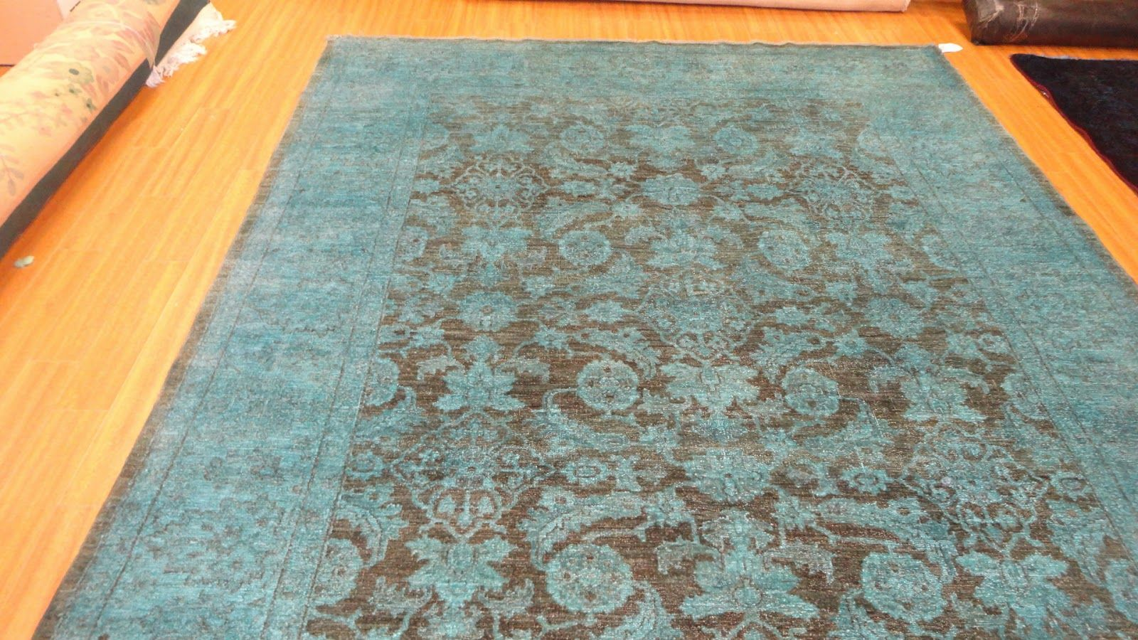 Turquoise And Brown Rug Google Search