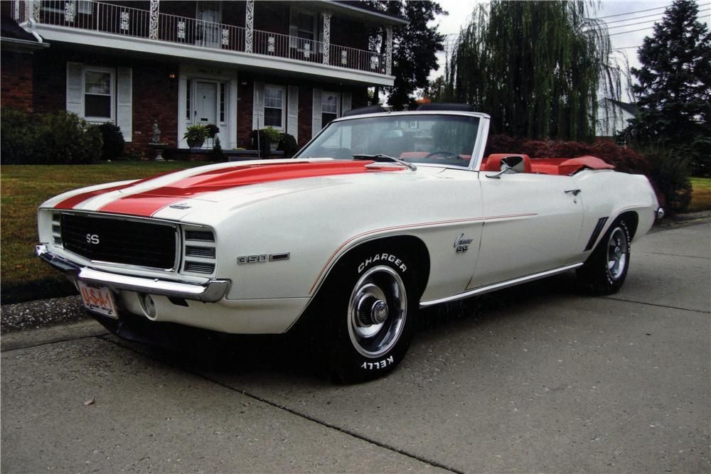 1969 Chevrolet Camaro Indy Pace Car Convertible 51 700 Chevrolet Camaro Camaro Muscle Cars Camaro