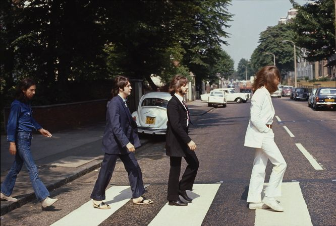 Abbey Road Out Take 4 Paul With Shoes On 8th August 1969 Grandioso