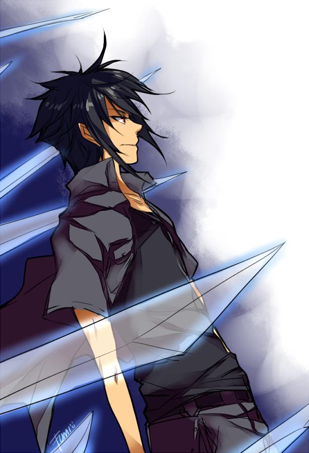 Hey, it's Sasuke! Er...I mean Noctis