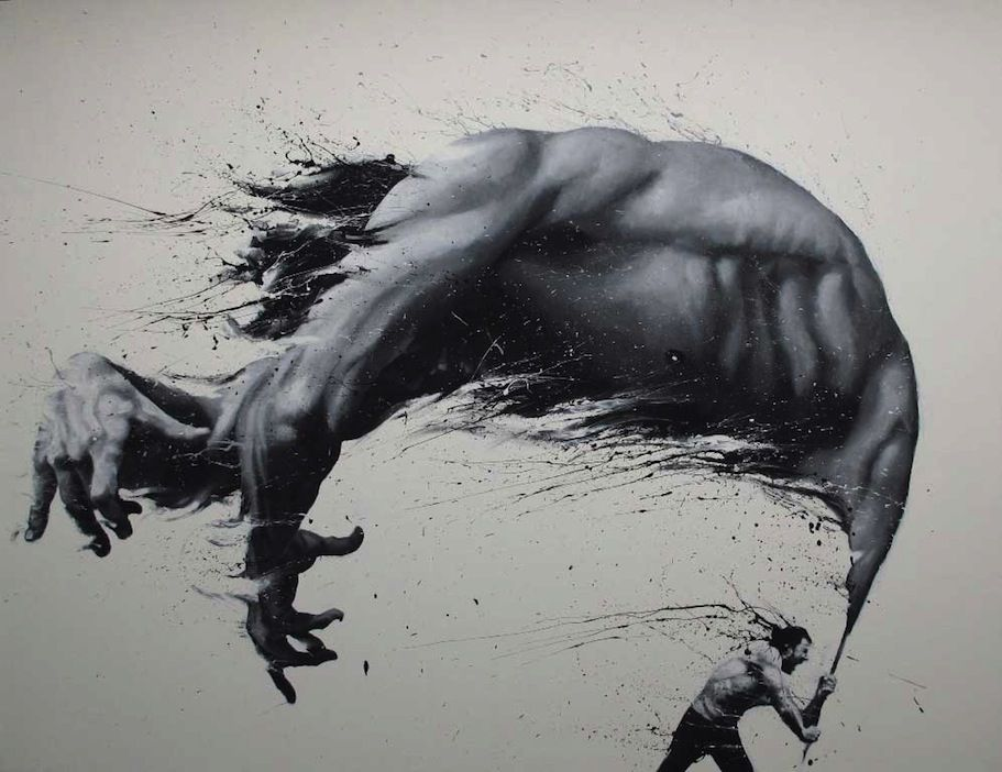 Finger Paintings by Paolo Troilo