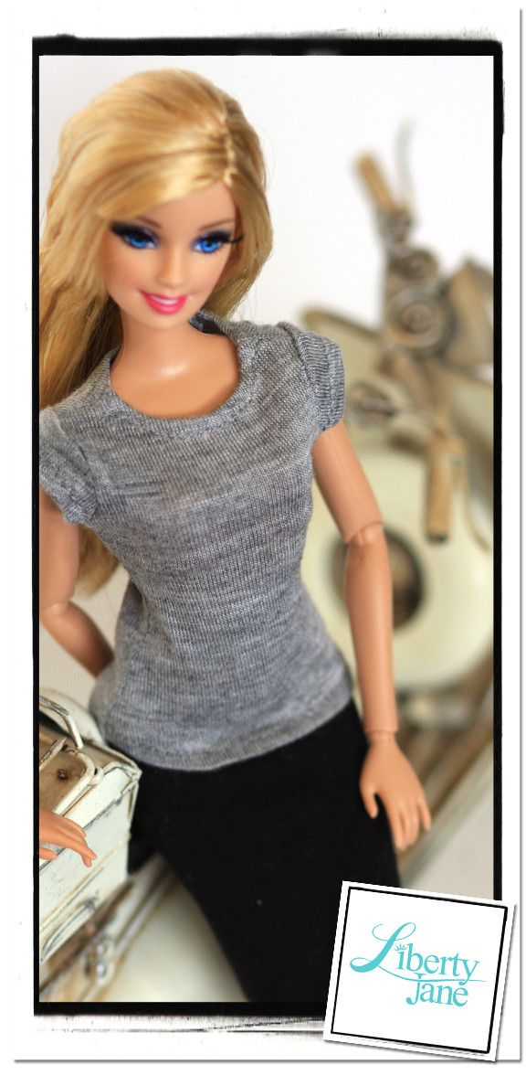 Barbie_t-shirt_supply_page.jpg 576×1,176 pixels | Free pattern ...