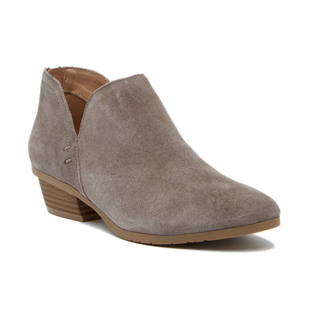 60184afea90 Kenneth Cole Reaction Women's Side Way Bootie Concrete | Fall In ...