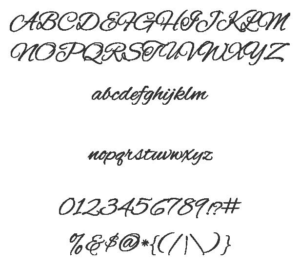 Alex Brush Sample at Fontsquirrel.com 100% free fonts for ...