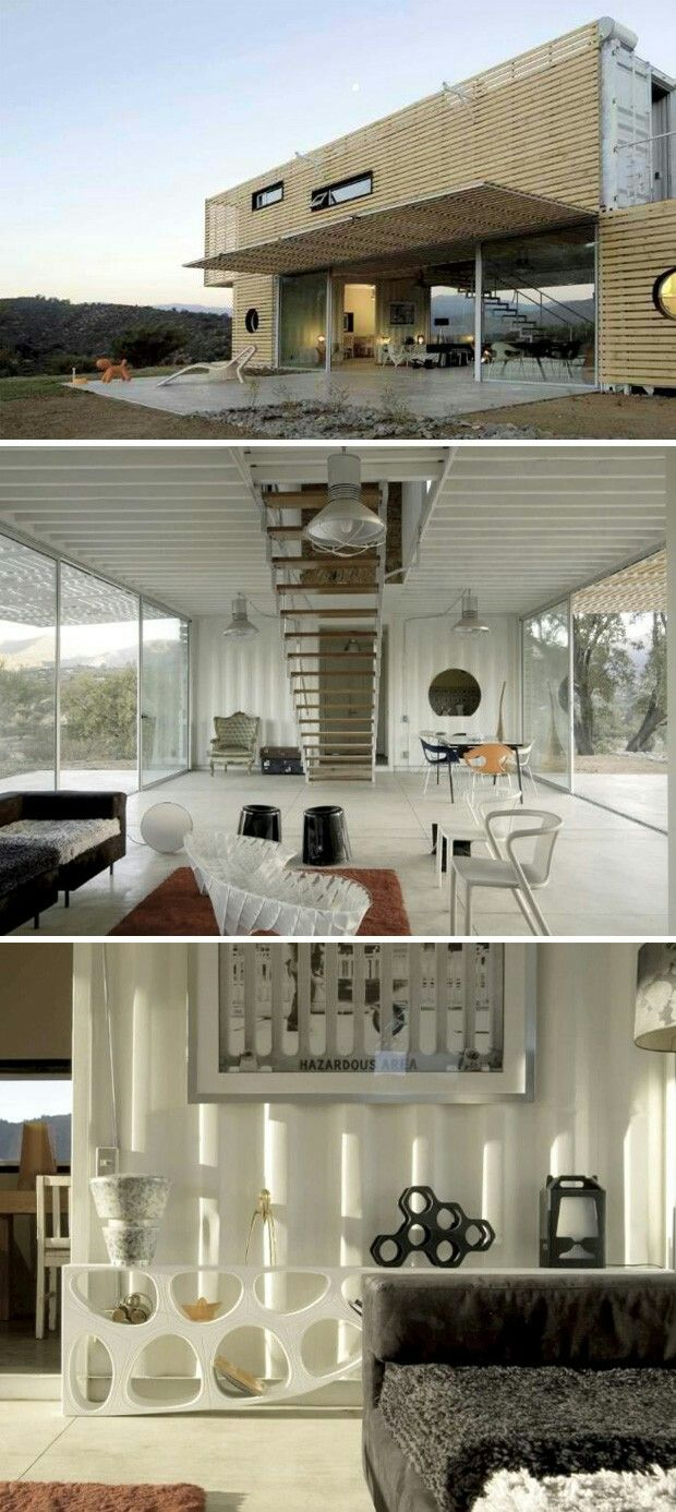 Shipping Container Home Plans | Container häuser, Container und ...