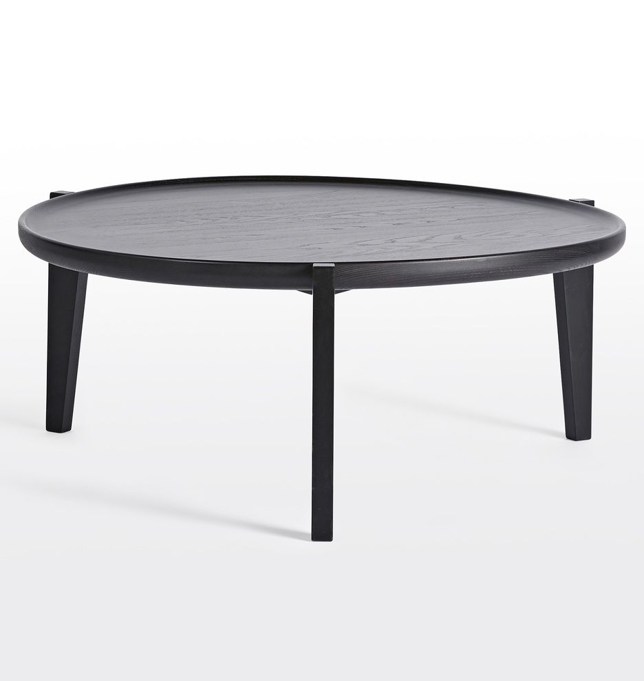 Wade Black Ash Nesting Coffee Table In 2020 Black Coffee Tables Coffee Table Furniture Furniture