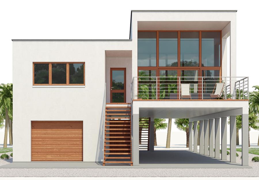 Architecture Architecture Home Plan Ch545 Beach House Floor Plans Stilt House Plans Modern Beach House