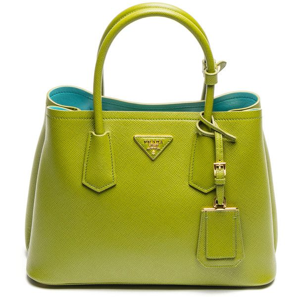 b28ffbd103ee ... low cost the stunning colors of the prada double bag in saffiano cuir  for fall liked ...