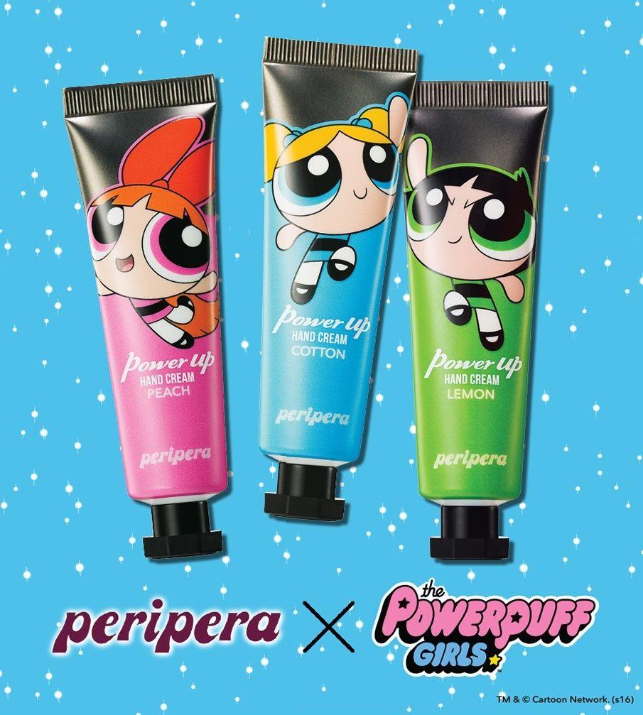 PERIPERA Power Up Hand Cream 30ml (Peripera X Powerpuff