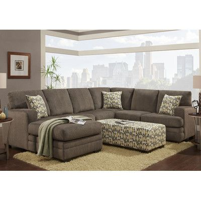 Chelsea Home Furniture Northborough Sectional Reviews Wayfair