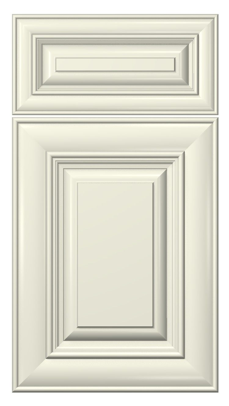 Cambridge Door Style Painted Antique White Kitchen Cabinets Doors