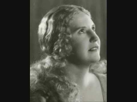 """▶ Kirsten Flagstad """"Lob des Leidens"""" R. Strauss - YouTube"""