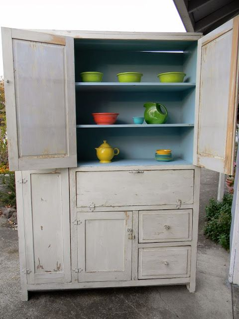 Blast From the Past | Vintage kitchen cabinets, Upcycled ...