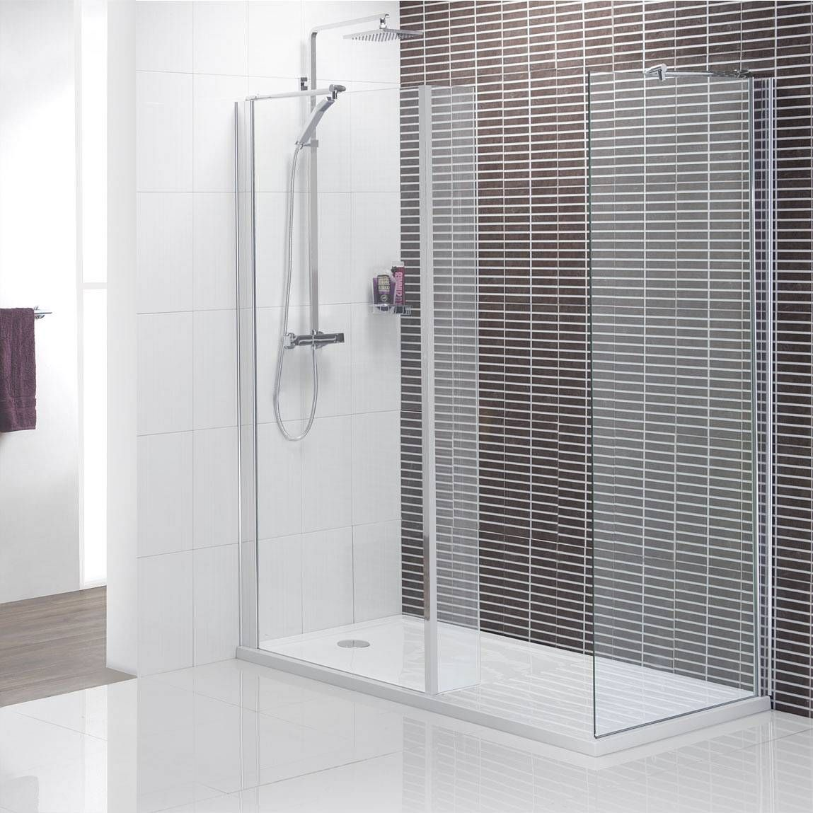 Image detail for Minimalist Walk in Shower Pack 1400 x 900 now