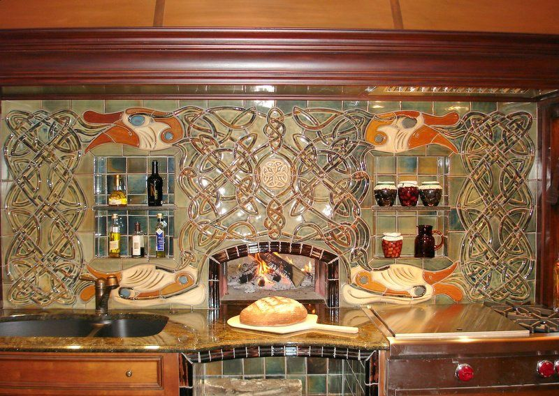 Beau Kitchens By Kleweno   Kansas City Kitchen Designed By Cherie Brown Tile  Designed By Archival Designs