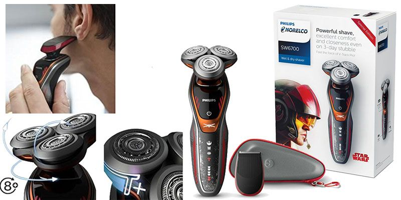 Philips Norelco Star Wars Poe Wet Dry Electric Shaver Top 10 Best Gifts For Men 2017 Him